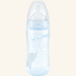Biberón NUK First Choice⁺ Baby Rose & Blue 300ml, Tetina Silicona