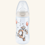 NUK Disney Winnie the Pooh First Choice Plus Baby Bottle 300ml with Temperature Control
